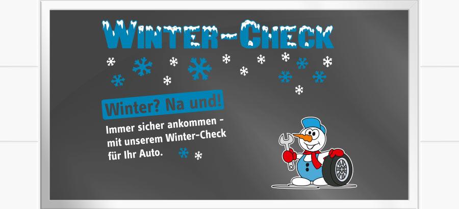 Schaufenster Winter Check Variante A Marketline Werbe