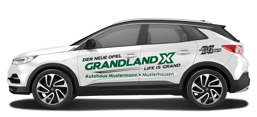 opel grandland x variante c - marketline werbe und service gmbh